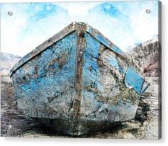 Old Blue # 2 Acrylic Print