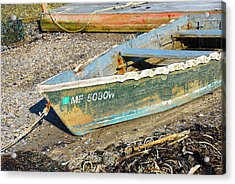 Acrylic Print featuring the photograph Old Boat by AnnaJanessa PhotoArt