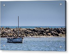 Old Boat Acrylic Print