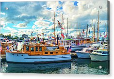 Old Boats Acrylic Print
