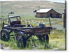 Old Bodie Wagon Acrylic Print