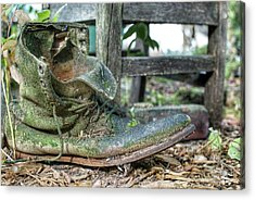 Old Boot Acrylic Print