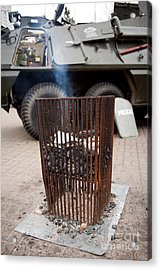 Old Brazier At 32nd Anniversary Acrylic Print