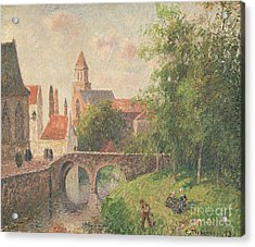 Old Bridge In Bruges  Acrylic Print