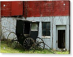 Old Buggy Acrylic Print by Joyce Kimble Smith