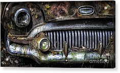 Old Buick Front End Acrylic Print