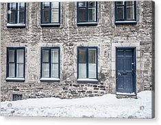 Old Building In Quebec City Acrylic Print