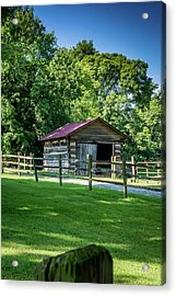 Acrylic Print featuring the photograph Old Building - The Hermitage by James L Bartlett