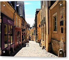 Old Buildings In France Acrylic Print