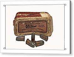 Old Bullets Acrylic Print by Susan Leggett