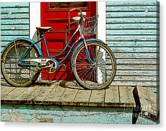 Old Bicycle. Warren, Vermont Acrylic Print