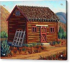 Old Cabin Acrylic Print