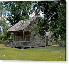 Old Cajun Home Acrylic Print by Judy Vincent