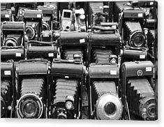 Old Cameras Acrylic Print