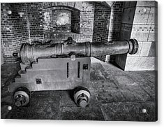 Old Canon Ft Point Acrylic Print