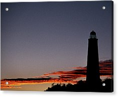 Old Cape Henry Sunrise Acrylic Print by Skip Willits