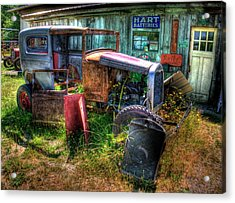 Old Car 3 Acrylic Print by Lawrence Christopher