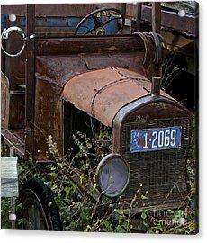 Old Car Acrylic Print by Anthony Jones