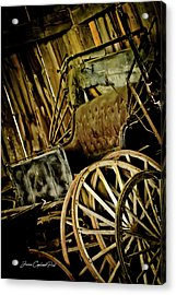 Acrylic Print featuring the photograph Old Carriage by Joann Copeland-Paul