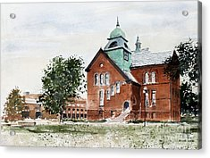 Oklahoma State University Old Central Acrylic Print