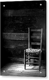 Old Chair Acrylic Print