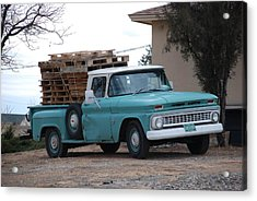 Old Chevy Acrylic Print by Rob Hans