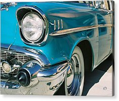 Acrylic Print featuring the photograph Old Chevy by Steve Karol