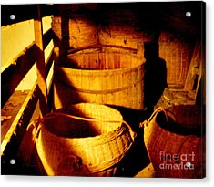 Old Chinese Attic 5 Acrylic Print by Kathy Daxon