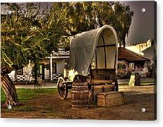 Old Chuck Wagon Acrylic Print