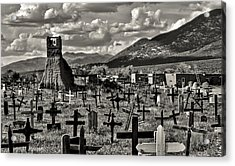 Old Church Taos Pueblo Acrylic Print