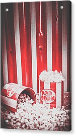 Old Cinema Pop Corn Acrylic Print by Jorgo Photography - Wall Art Gallery