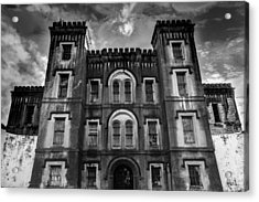 Old City Jail Acrylic Print by Drew Castelhano