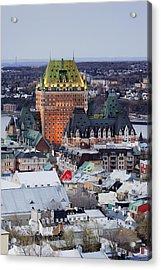 Old City Skyline Acrylic Print by Jeremy Woodhouse