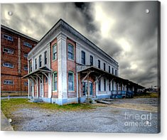 Old Clinchfield Train Station Acrylic Print