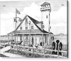 Old Coast Guard Station Acrylic Print