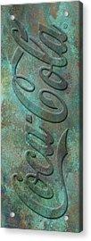 Old Coca Cola Sign Acrylic Print