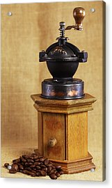 Old Coffee Grinder Acrylic Print by Falko Follert