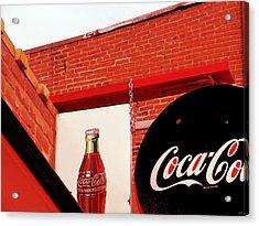 Old Coke Acrylic Print
