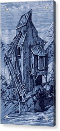 Old Colorado Mine Acrylic Print by Donn Kay