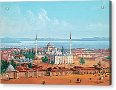 Old Constantinople Acrylic Print by Munir Alawi