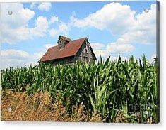 Old Corn Crib Acrylic Print