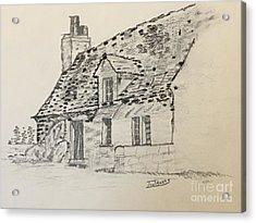 Old Cottage Acrylic Print