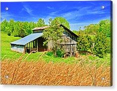 Old Country Barn Acrylic Print