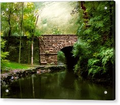 Old Country Bridge Acrylic Print