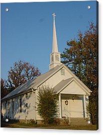 Old Country Church Acrylic Print by Kathy Bucari