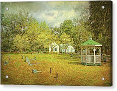Acrylic Print featuring the photograph Old Country Church by Lewis Mann