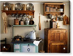 Old Country Kitchen Acrylic Print by Carmen Del Valle
