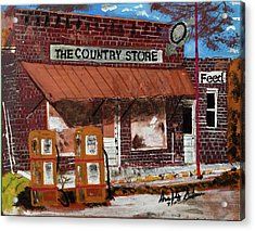 Old Country Store Acrylic Print