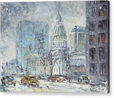 Old Courthouse From N 4th St. St.louis Acrylic Print