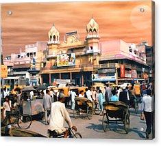 Old Dehli Acrylic Print